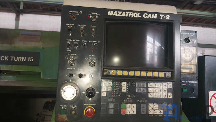 CNC Drehmaschine MAZAK Quick turn 15 images - Arico Machine