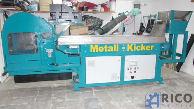 Metallabscheider ALREC-TEC GmbH METALL-KICKER images - Arico Machine