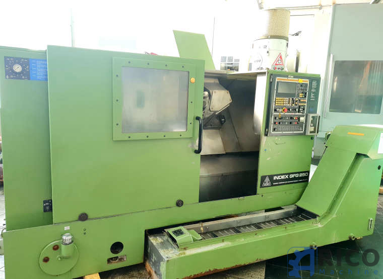 CNC Drehmaschine  Index  GFG 250 images - Arico Machine