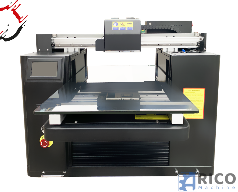 UV A2 Max Volume Digital LED Drucker CMYK + W 45cmx65cm 400mm We Print Solutions PS4060 Max Volume images - Arico Machine