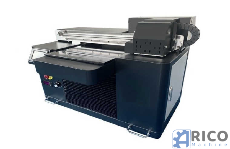 UV A2 Digital LED Drucker C M Y K + W 45cmx65cm Druckfläche We Print Solutions PS4060Max images - Arico Machine