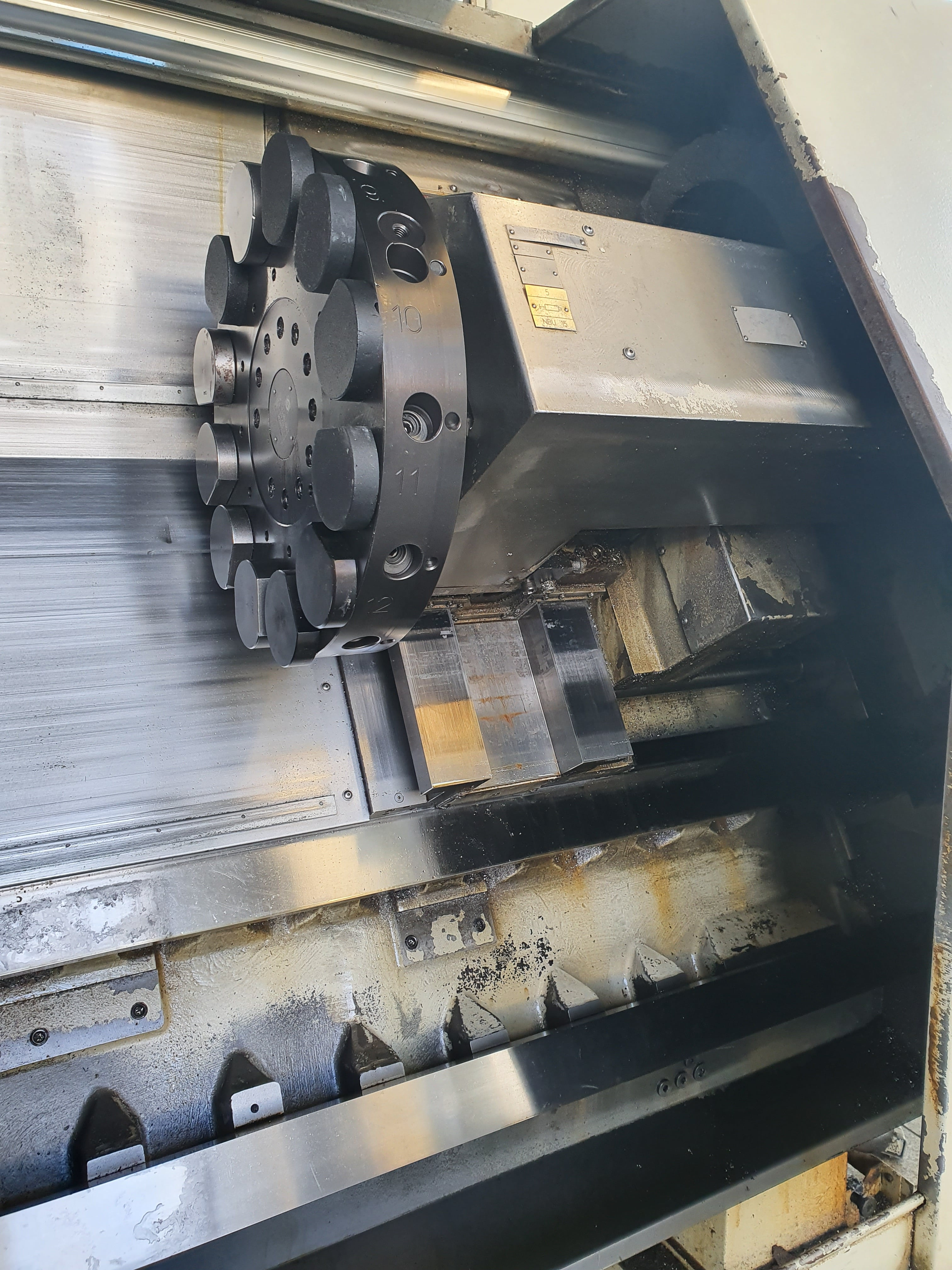 CNC-Drehmaschine NILES-SIMMONS  N 10 images - Arico Machine