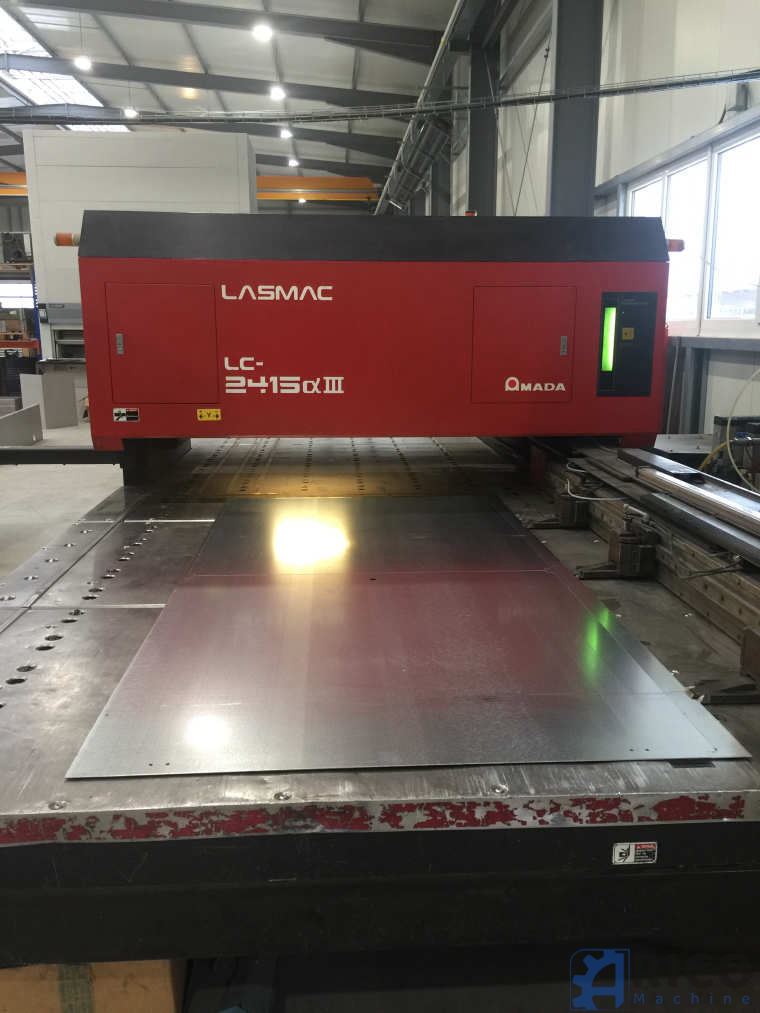 Laser Amada LZ 2415 images - Arico Machine