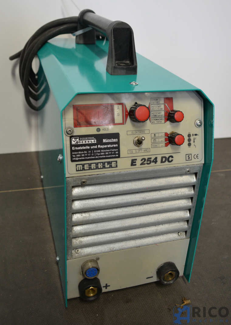 Elektroden-Inverter-Schweißmaschine Merkle E 254 DC images - Arico Machine