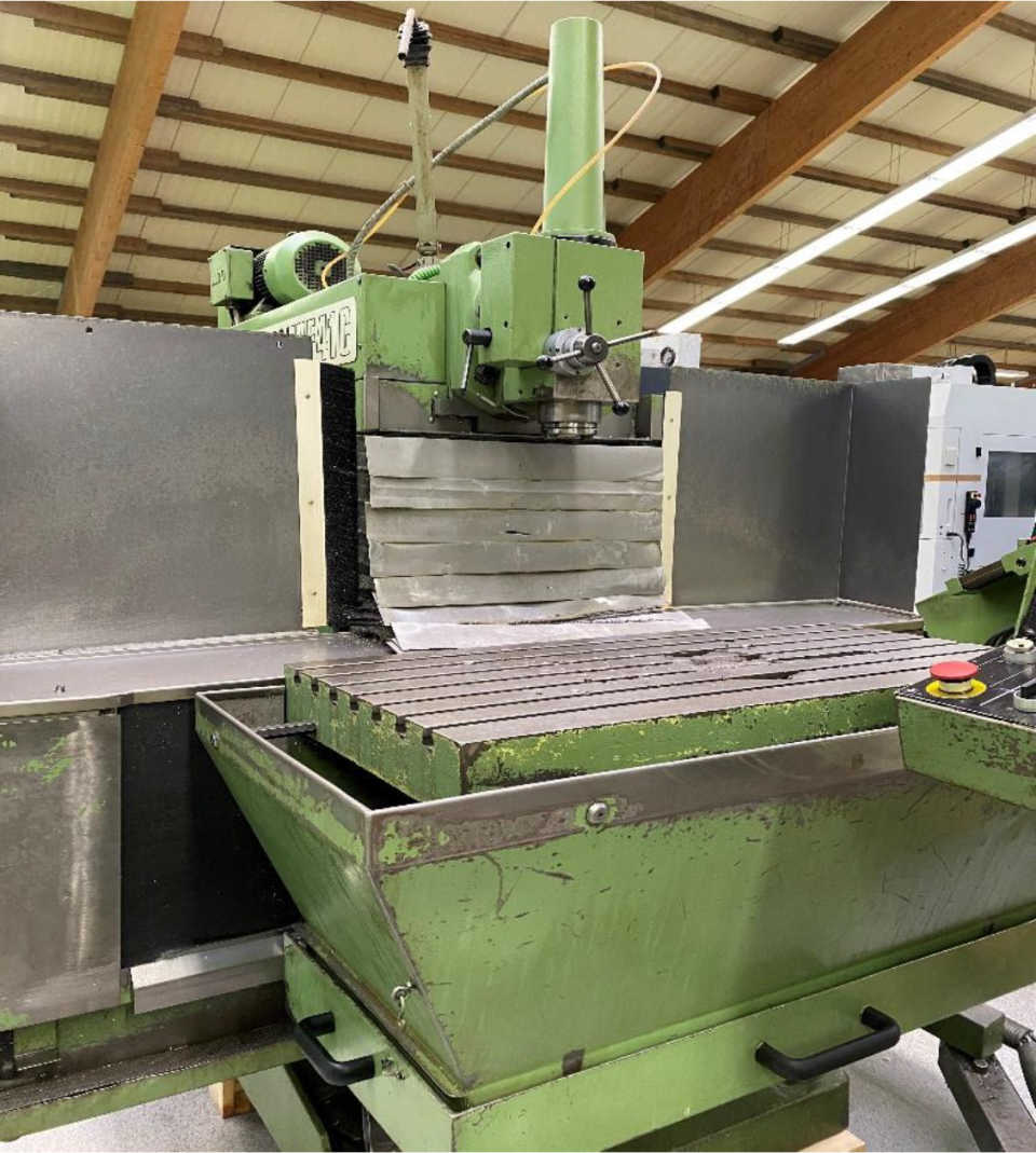 Fräsmaschine  Mikron WF41 C images - Arico Machine